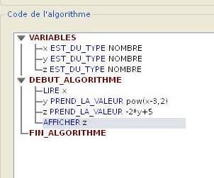 Algorithme fonction polynome du 2nd degré : exercice de ...