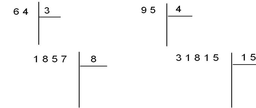 Maths au cm1 avec cours et exercices imprimer en pdf - Division a imprimer ...