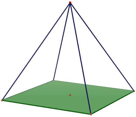 Pyramides et cônes : exercices de maths corrigés en 4ème
