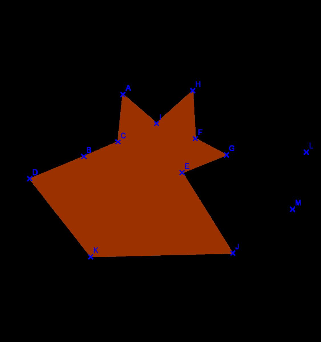 Symétrie axiale : exercices de maths corrigés en 6ème en PDF.