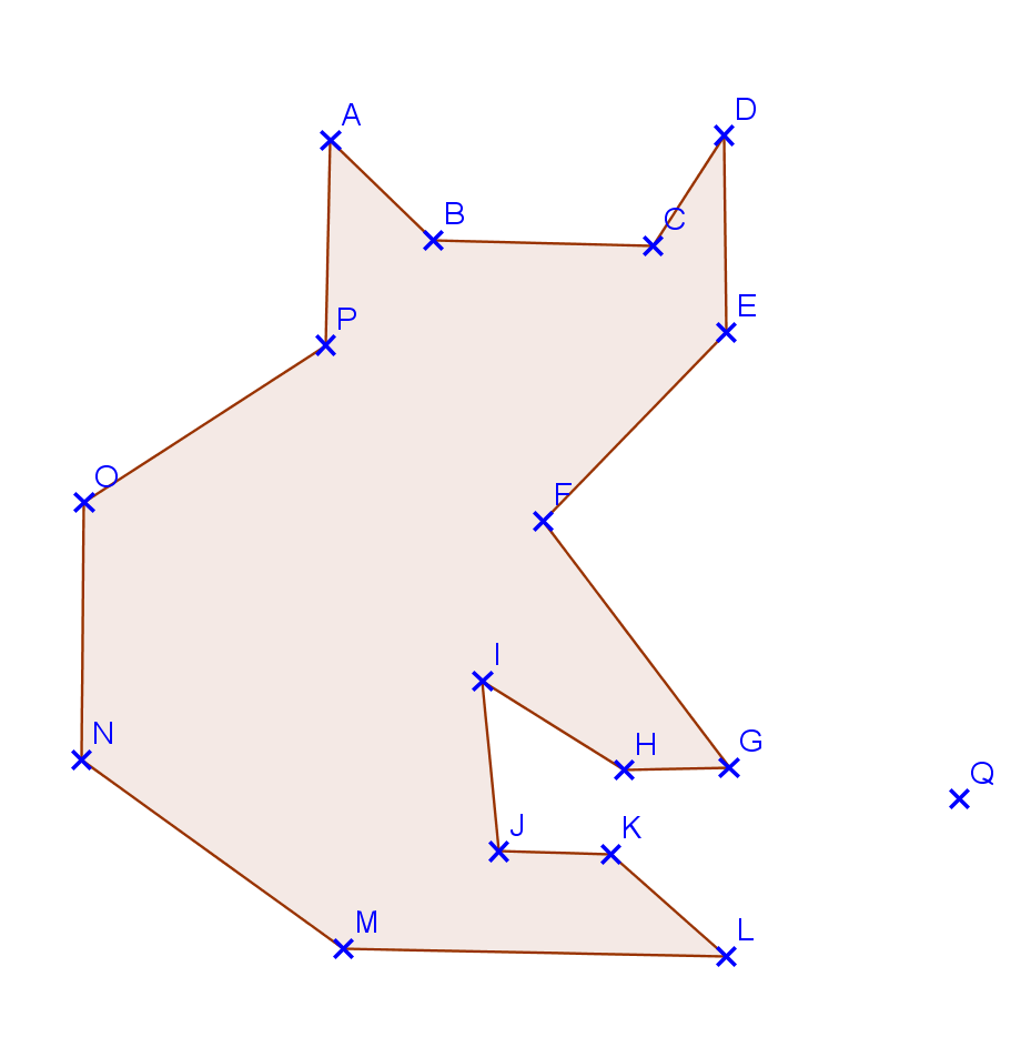 La symétrie centrale : exercices de maths corrigés en 5ème
