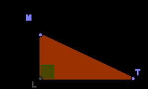 Théorème de Pythagore : qcm de maths et exercices en ...