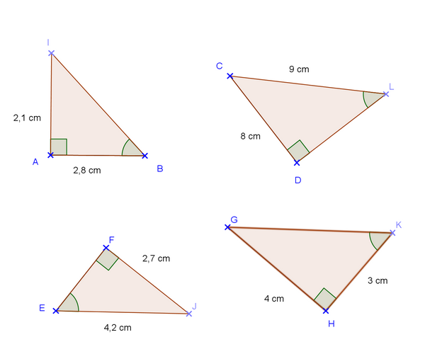 Trigonométrie dans le triangle rectangle