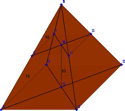 Volume du tronc d 39 une pyramide exercices de maths en 3 me for Calculer le volume d une maison