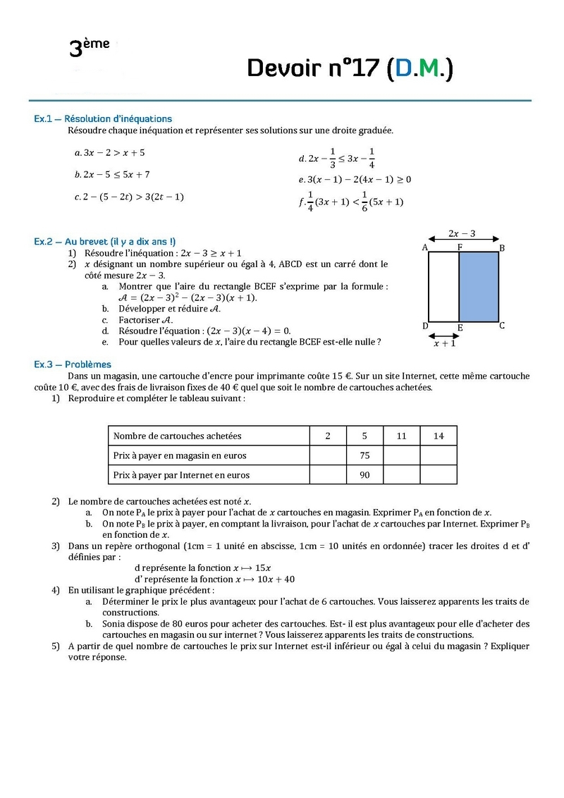 Devoir Maison Maths Seconde – Ventana Blog