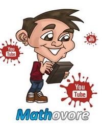 Vidéos de maths sur YouTube.