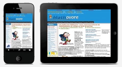 mathovore Partenariat avec le site de mathématiques Mathovore