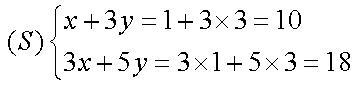 Les systèmes déquations