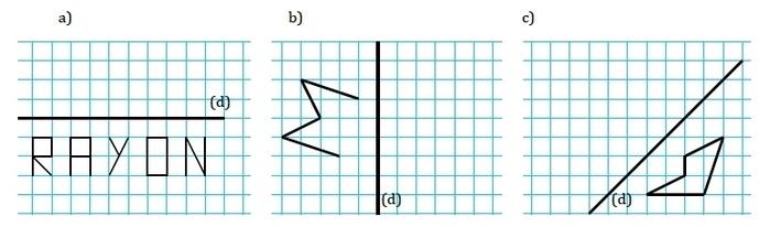 Bien-aimé Symétrie axiale : exercices de maths corrigés en 6ème FR22