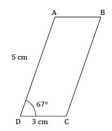 Construction - parallélogramme. : exercices en 5ème.