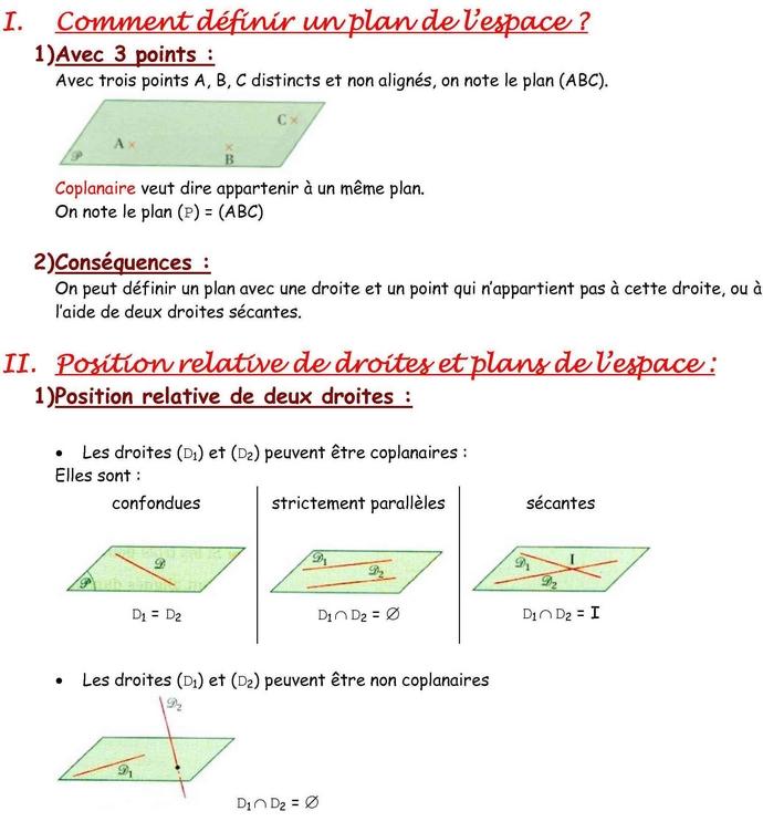 20101031u146 Géométrie dans lespace