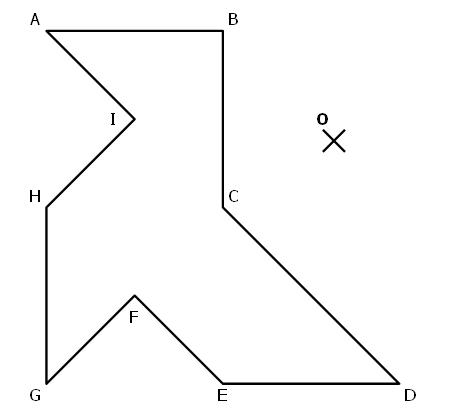 Extrêmement La symétrie centrale : exercices de maths corrigés en 5ème LR95