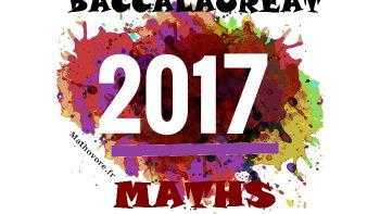 Permalien vers:Bac de maths 2017  S et ES avec sujets et corrigés