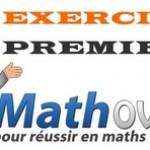 Exercices de maths en première