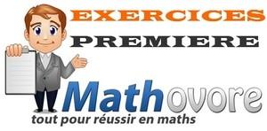 Exercices de maths en 1ère S au programme de première S