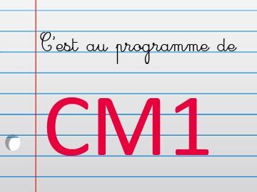 Maths au cm1 avec cours et exercices imprimer en pdf for Exercice multiplication cm1