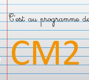 Maths au CM2