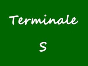 Maths en terminale S