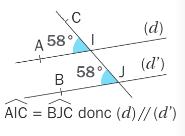 Angles correspondants