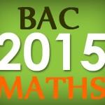 Bac S 2015 de maths en France sujet probable et révision