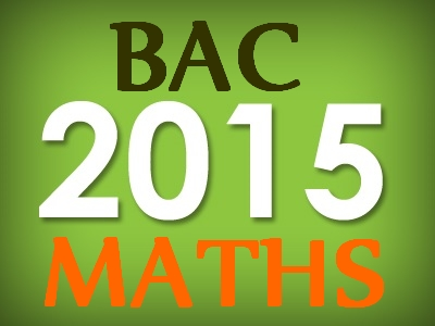 Bac S maths 2015