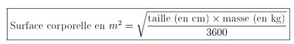 formule de Mosteller