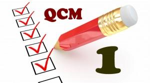 QCM en première