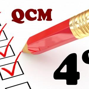 QCM de mathématiques en quatrième (4ème)