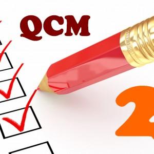 QCM de mathématiques en seconde