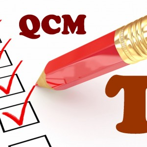 QCM de mathématiques en terminale