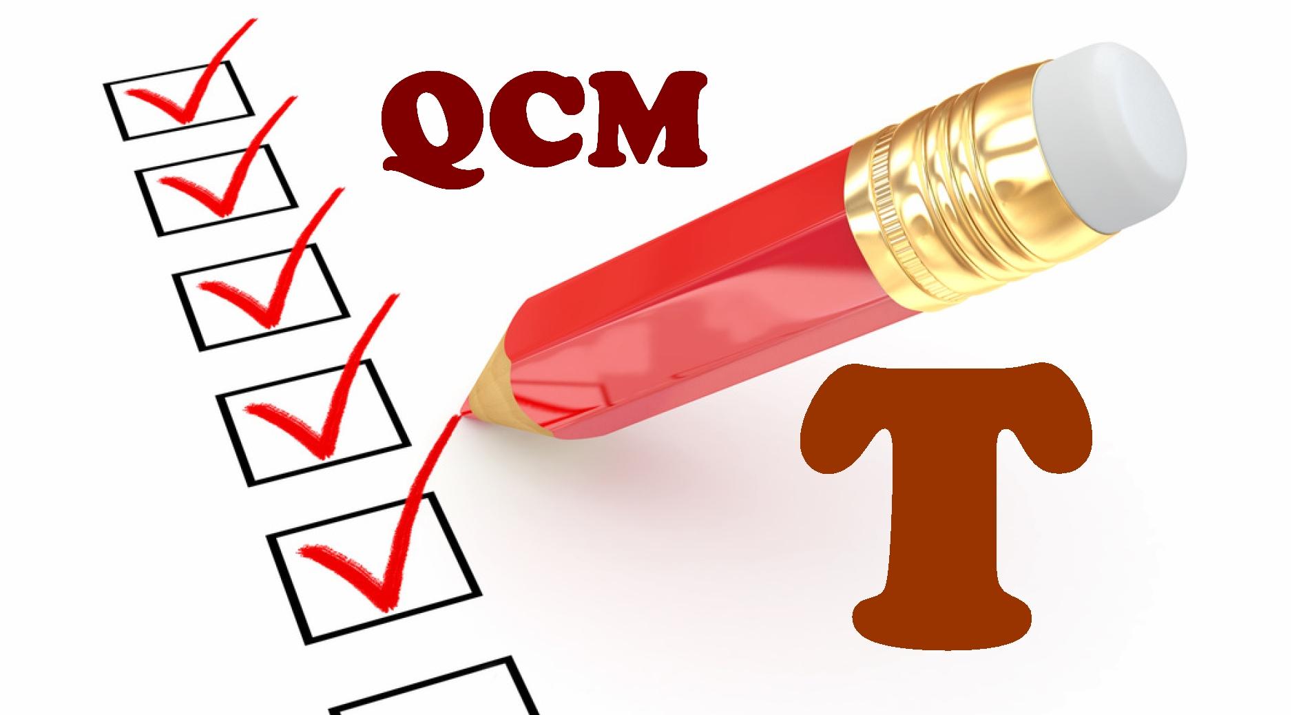 QCM en terminale