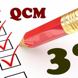 Les racines carrées et calculs : QCM en 3ème