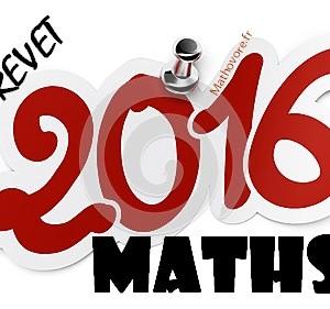 Brevet de maths 2016 : sujet blanc