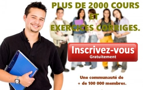 Inscription au site de maths