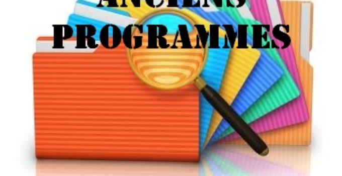 Anciens programmes