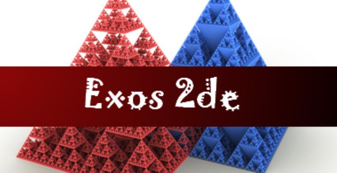Exercices maths 2de