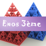 Théorème de Thalès : exercices de maths en 3ème corrigés en PDF.