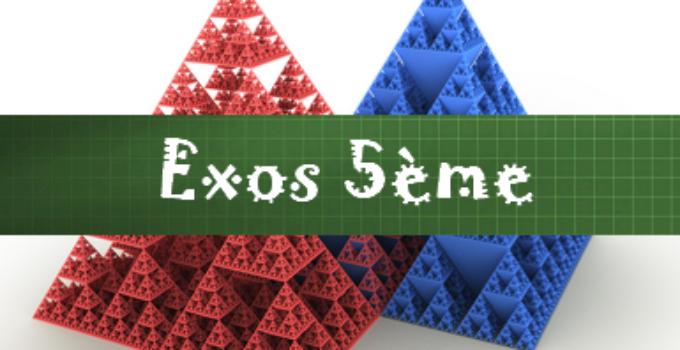 Fractions Exercices Maths 5eme Corriges En Pdf