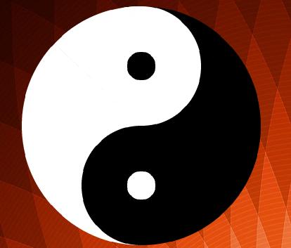 Yin et yang avec scratch