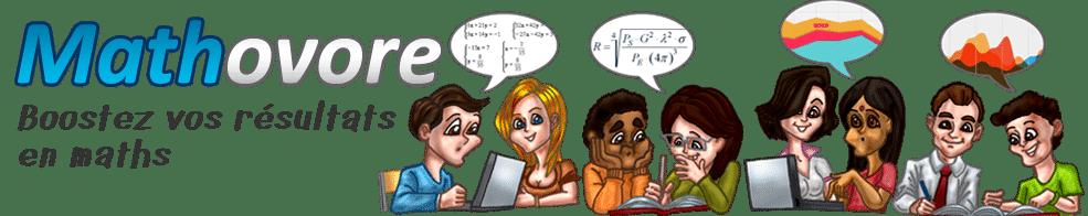 Maths : cours et exercices corrigés en PDF.