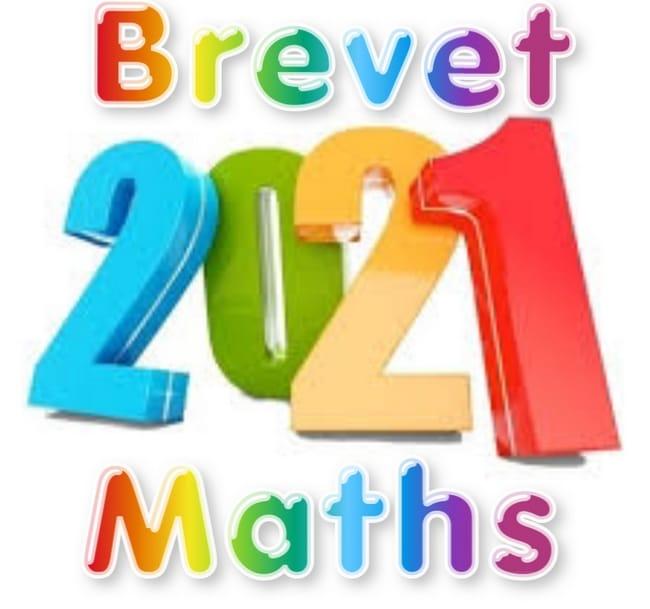 brevet maths 2021