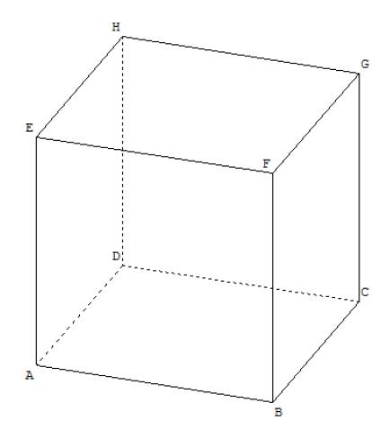 cube bac maths 2021